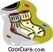 pair of socks Vector Clipart image
