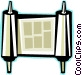 scroll Vector Clipart image