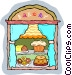 bakery Vector Clipart graphic