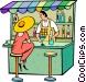 bar Vector Clip Art image