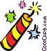Fireworks and Firecrackers Vector Clipart illustration