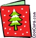 Christmas card Vector Clipart picture
