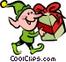 Santa's Elves and Helpers Vector Clip Art image
