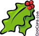 holly Vector Clipart image