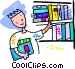 Public Library Vector Clipart picture