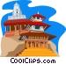 Katmandu Vector Clipart picture