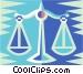 Libra Vector Clip Art image