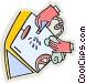 Car Wash Vector Clipart illustration