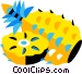 pineapples Vector Clip Art graphic