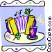 accordion Vector Clip Art picture