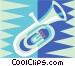 tuba Vector Clipart picture