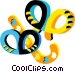 pretzels Vector Clip Art graphic
