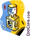 water cooler Vector Clip Art picture