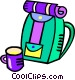 back pack Vector Clipart image