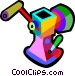 meat grinder Vector Clip Art graphic