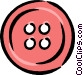 red button Vector Clip Art image