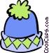 winter hat Vector Clip Art image