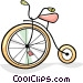 tricycles Vector Clipart picture