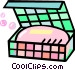 bar of soap Vector Clip Art graphic