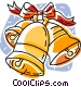 Christmas bells Vector Clip Art image