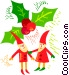 elves Vector Clipart picture