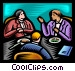 business meeting Vector Clipart image