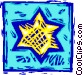 star of David Vector Clip Art image