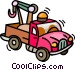 tow trucks Vector Clipart illustration