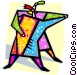 couple dancing Vector Clip Art graphic