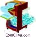 paper shredder Vector Clip Art picture