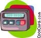 beeper Vector Clip Art image