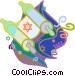 Jewish religion Vector Clipart image