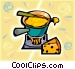fondue Vector Clip Art picture