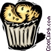 muffin Vector Clip Art image