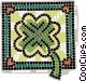 St. Patrick's day clover Vector Clipart illustration