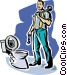 plumber Vector Clip Art picture