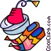 hats Vector Clipart image