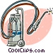 welding torch Vector Clipart picture