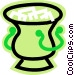 ice pail Vector Clipart image