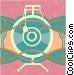 Cymbals Vector Clip Art image