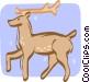 reindeer Vector Clipart picture