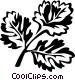 coriander Vector Clip Art image