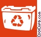 recycle bin Vector Clip Art picture
