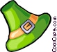 St. Patrick's day hat Vector Clipart graphic