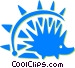 porcupine Vector Clipart image
