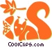 squirrels Vector Clipart picture
