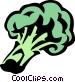 broccoli Vector Clipart image