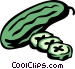 cucumbers Vector Clipart picture