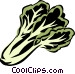 bok choy Vector Clipart illustration