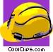 hard hat Vector Clip Art image